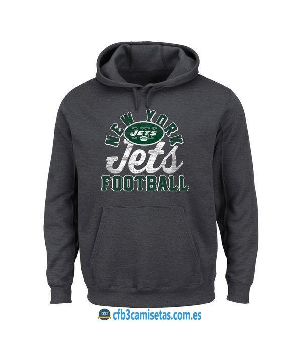 CFB3-Camisetas Sudadera New York Jets