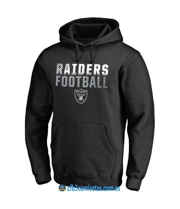 CFB3-Camisetas Sudadera Oakland Raiders
