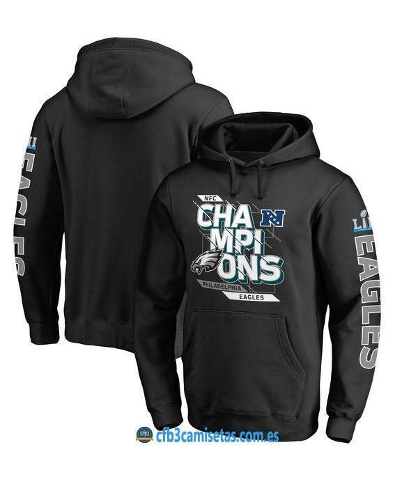 CFB3-Camisetas Sudadera Philadelphia Eagles