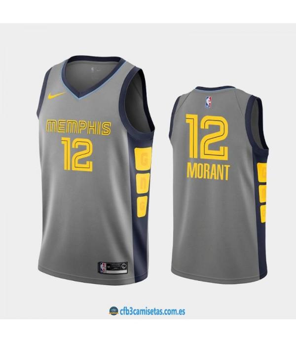 CFB3-Camisetas Ja Morant Memphis Grizzlies City Edition