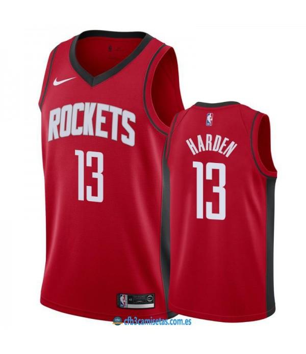 CFB3-Camisetas James Harden Houston Rockets 2019 2020 Icon