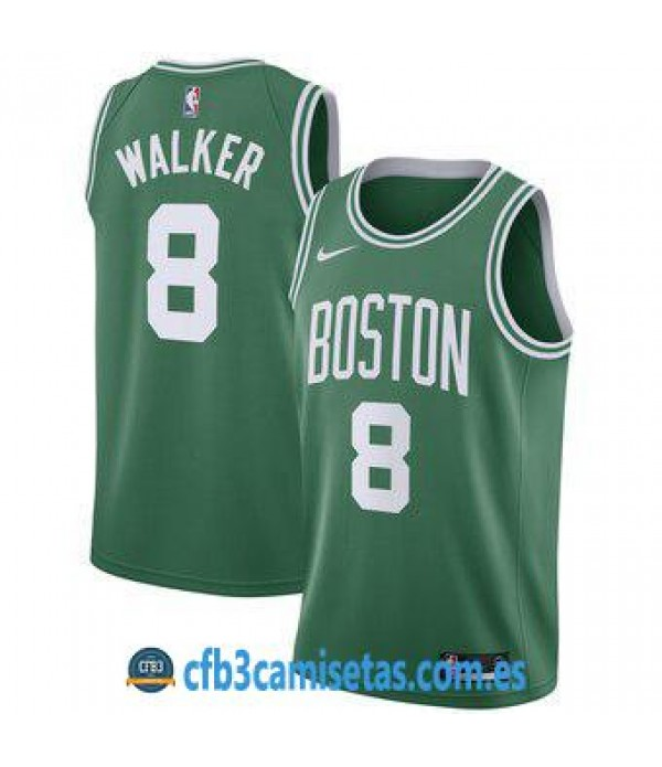 CFB3-Camisetas Kemba Walker Boston Celtics 2019 2020 Icon