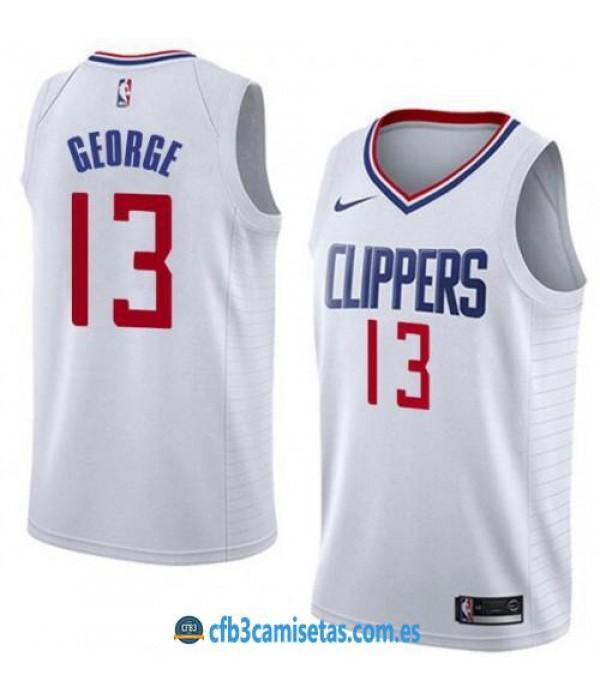 CFB3-Camisetas Paul George Los Angeles Clippers Association