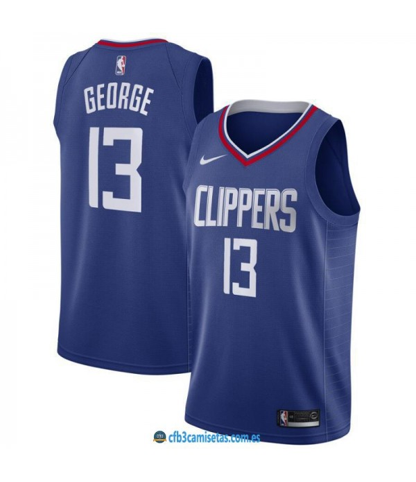 CFB3-Camisetas Paul George Los Angeles Clippers Icon