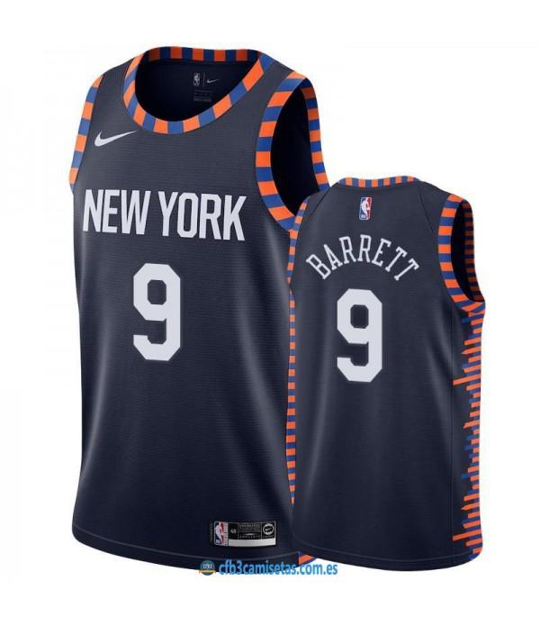 CFB3-Camisetas RJ Barrett New York Knicks City Edition