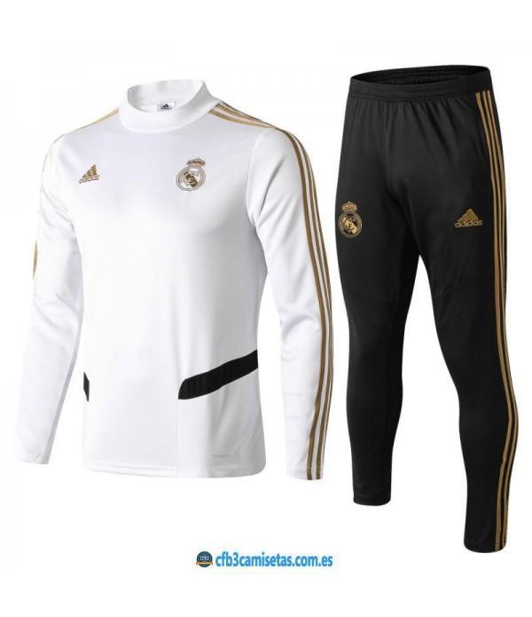 CFB3-Camisetas Chándal Real Madrid 2019 2020
