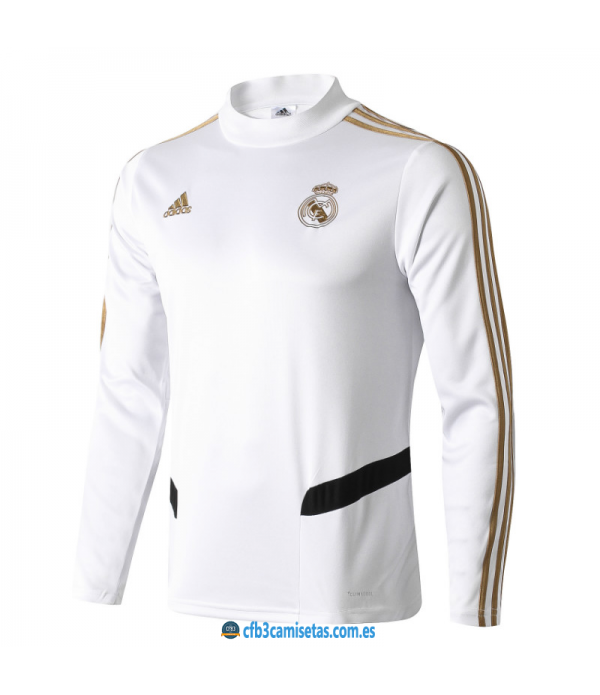 CFB3-Camisetas Sudadera Real Madrid 2019 2020