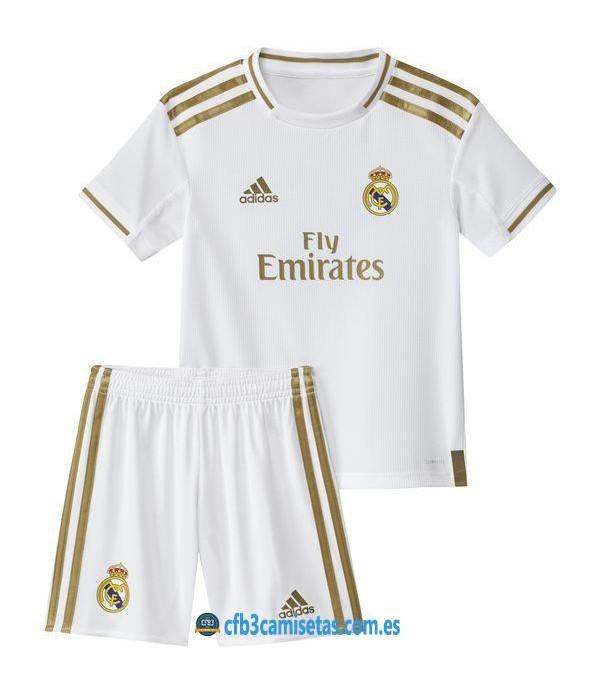 CFB3-Camisetas Real Madrid 1a Equipación NIÑO 2019 2020