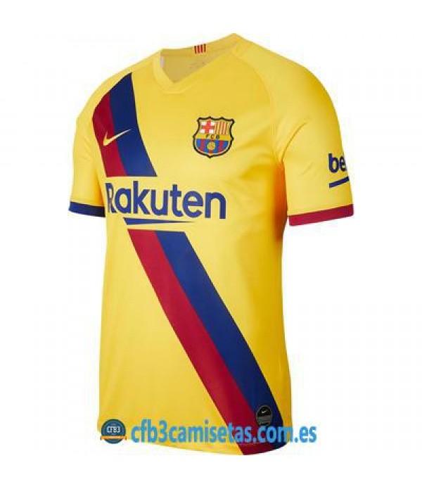 CFB3-Camisetas FC Barcelona 2a Equipación 2019 2020