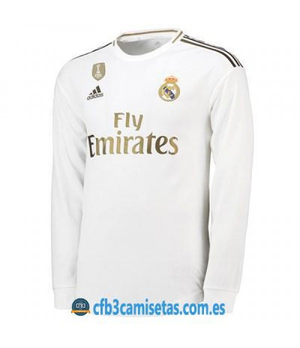 CFB3-Camisetas Real Madrid 1a Equipación 2019 2020 ML