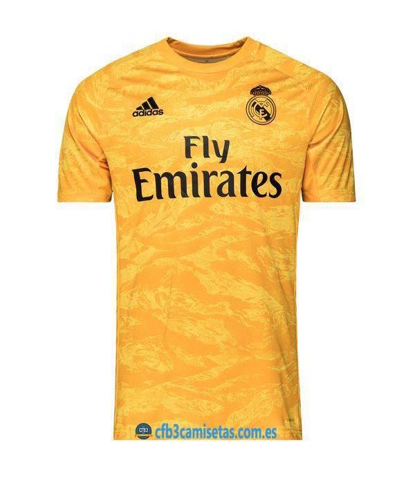 CFB3-Camisetas Real Madrid 1a Equipación Portero 2019 2020