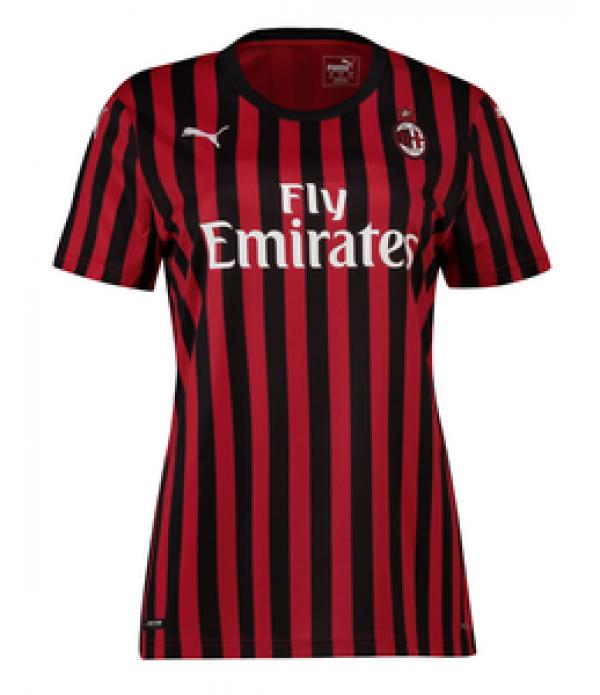 CFB3-Camisetas AC Milan 1a Equipación 2019 2020 MUJER