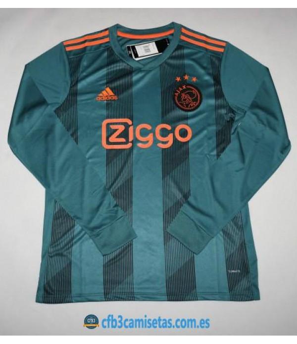 CFB3-Camisetas Ajax 2a Equipación 2019 2020 ML