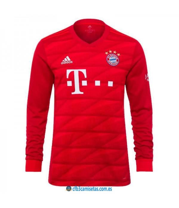 CFB3-Camisetas Bayern Munich 1a Equipación 2019 2020 ML