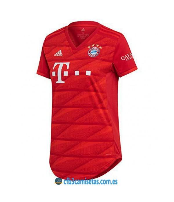 CFB3-Camisetas Bayern Munich 1a Equipación 2019 2020 MUJER
