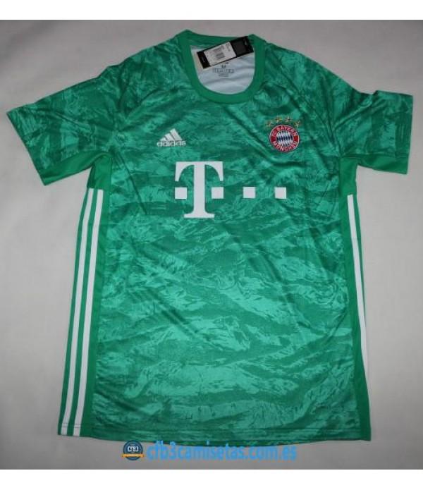 CFB3-Camisetas Bayern Munich 1a Equipación Portero 2019 2020