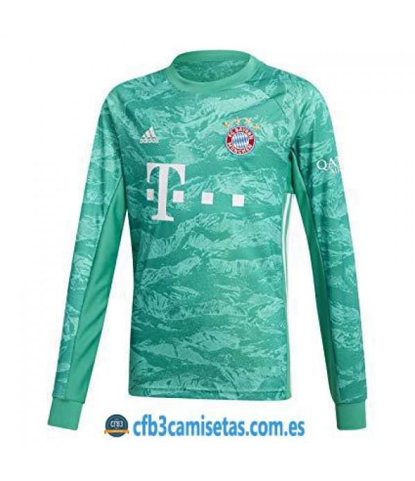 CFB3-Camisetas Bayern Munich 1a Equipación Portero 2019 2020 ML