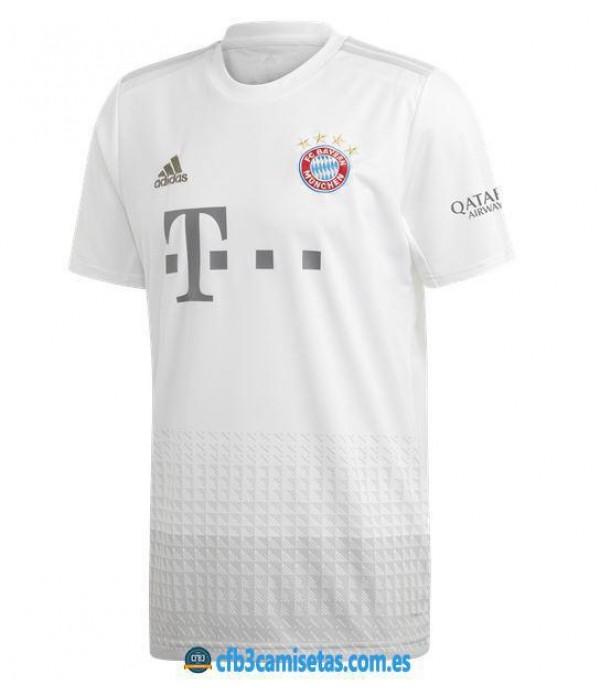 CFB3-Camisetas Bayern Munich 2a Equipación 2019 2020