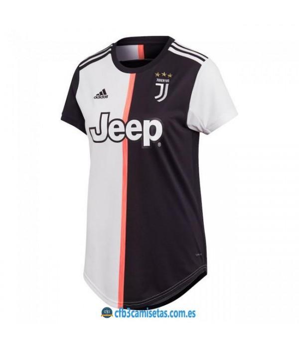 CFB3-Camisetas Juventus 1a Equipación 2019 2020 MUJER