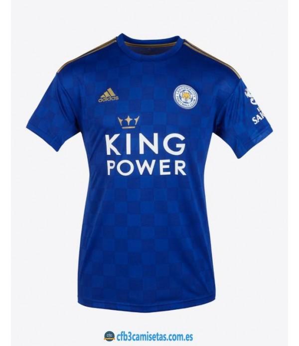 CFB3-Camisetas Leicester City 1a Equipación 2019 2020