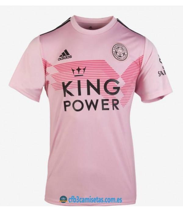 CFB3-Camisetas Leicester City 2a Equipación Pink 2019 2020