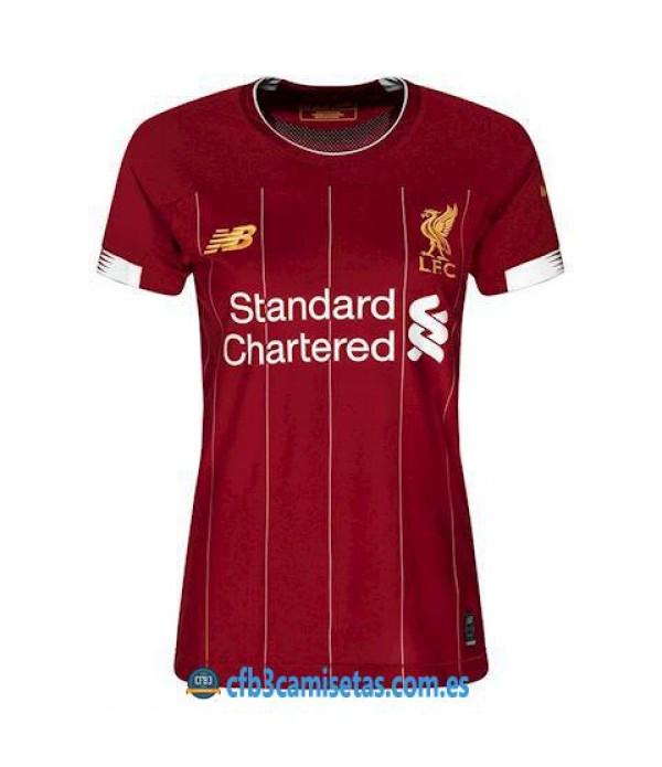CFB3-Camisetas Liverpool 1a Equipación 2019 2020 MUJER