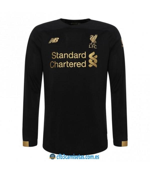 CFB3-Camisetas Liverpool 1a Equipación Portero 2019 2020 ML