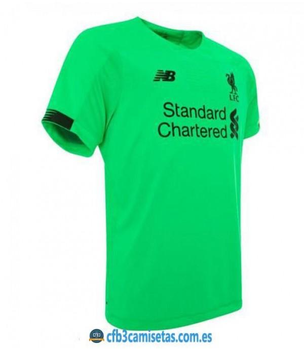 CFB3-Camisetas Liverpool 2a Equipación Portero 2019 2020