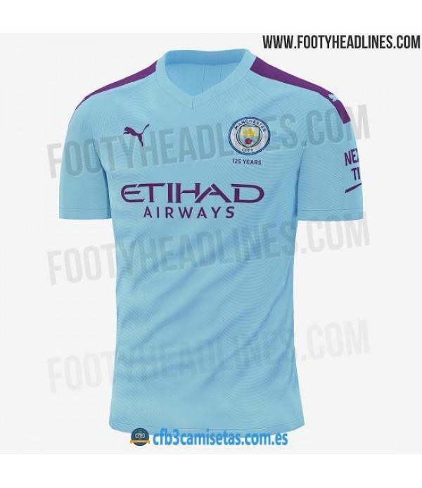 CFB3-Camisetas Manchester City 1a Equipación 2019 2020