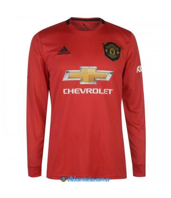 CFB3-Camisetas Manchester United 1a Equipación 2019 2020 ML
