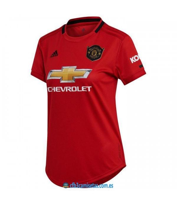 CFB3-Camisetas Manchester United 1a Equipación 2019 2020 MUJER