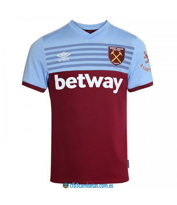 CFB3-Camisetas West Ham United 1a Equipación 2019 2020