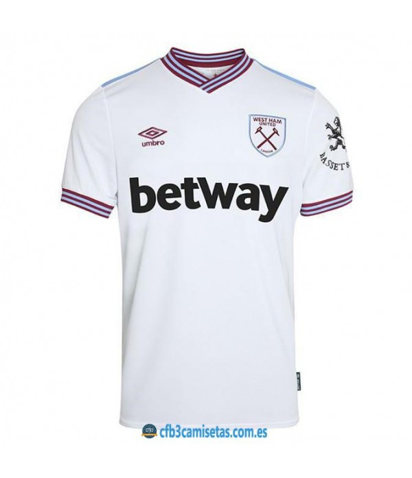 CFB3-Camisetas West Ham United 2a Equipación 2019 2020