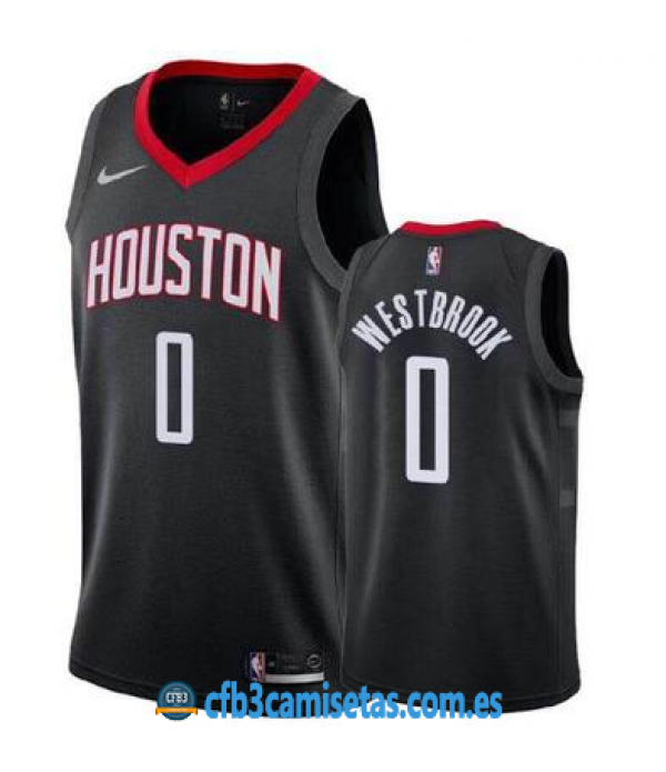 CFB3-Camisetas Russell Westbrook Houston Rockets Statement