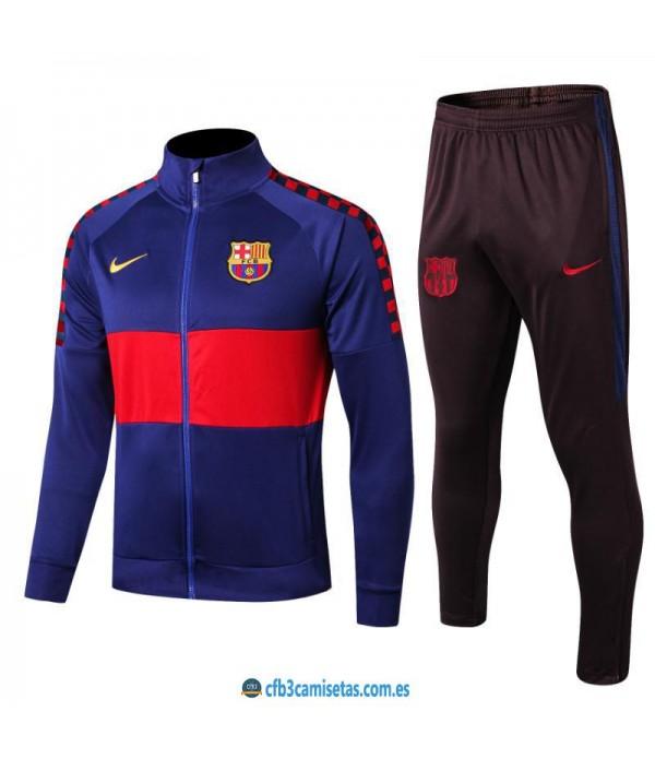 CFB3-Camisetas Chándal FC Barcelona 2019 2020