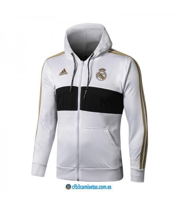 CFB3-Camisetas Chaqueta con capucha Real Madrid 20...