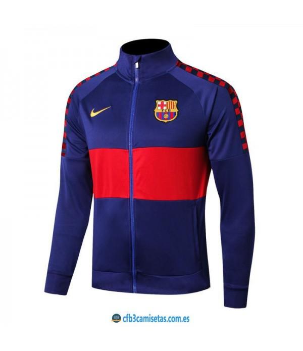 CFB3-Camisetas Chaqueta FC Barcelona 2019 2020