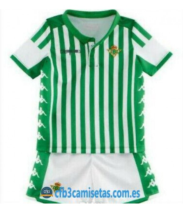 CFB3-Camisetas Betis 1a Equipación 2019 2020 Kit Junior