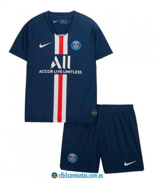 CFB3-Camisetas PSG 1a Equipación 2019 2020 Kit Junior