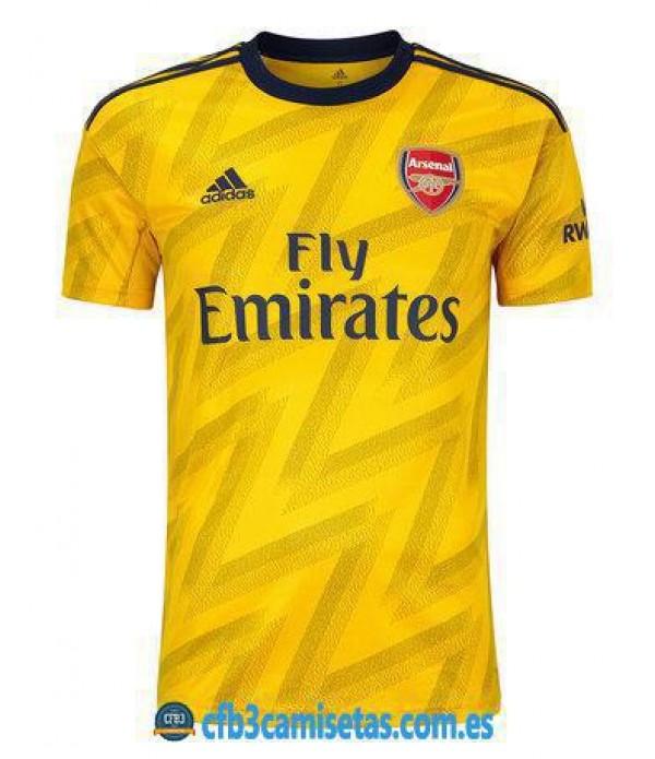 CFB3-Camisetas Arsenal 2a Equipación 2019 2020