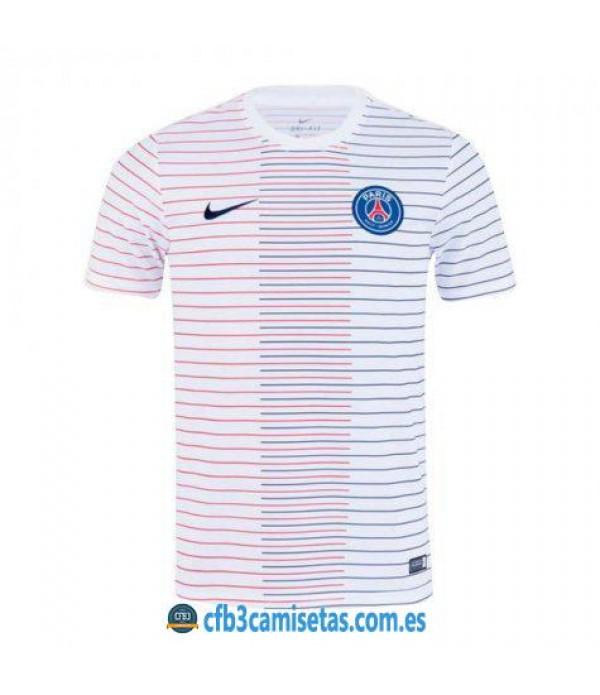 CFB3-Camisetas Camiseta PSG Pre Partido 2019 2020 Blanca