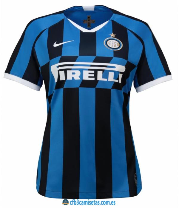 CFB3-Camisetas Inter Milan 1a Equipación 2019 2020 MUJER