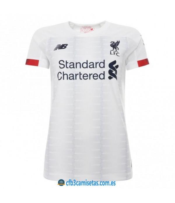 CFB3-Camisetas Liverpool 2a Equipación 2019 2020 MUJER