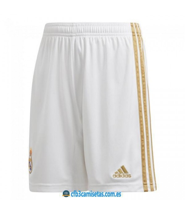 CFB3-Camisetas Pantalones 1a Real Madrid 2019 2020