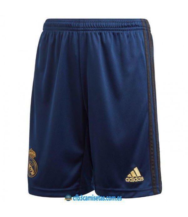 CFB3-Camisetas Pantalones 2a Real Madrid 2019 2020