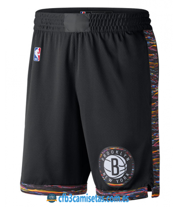 CFB3-Camisetas Pantalones Brooklyn Nets City Editi...