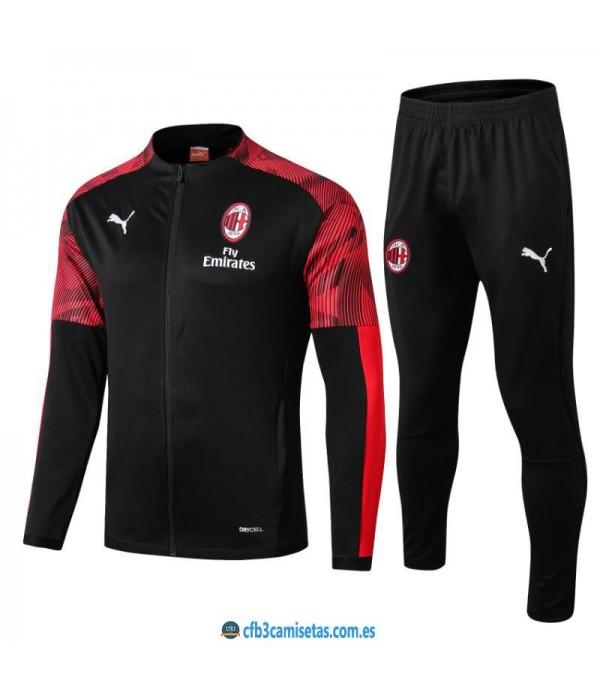 CFB3-Camisetas Chándal AC Milan 2019 2020 2