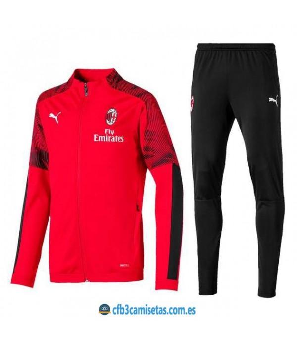 CFB3-Camisetas Chándal AC Milan 2019 2020 4