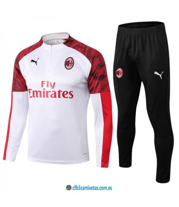 CFB3-Camisetas Chándal AC Milan 2019 2020