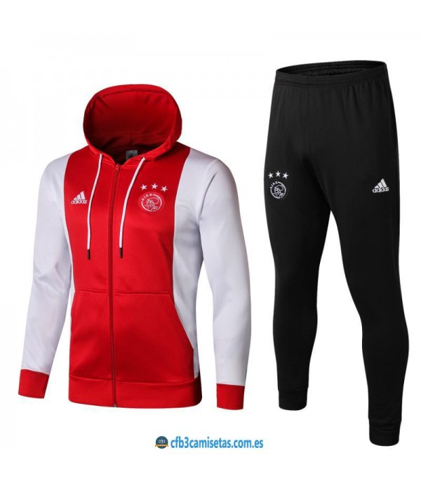 CFB3-Camisetas Chándal Ajax 2019 2020 2